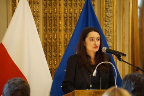 Ewa Hajducka-Dzioba, prezes Invest Eagle Group, organizatora konferencji